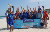 Първенецът на страната по плажен футбол МФК Спартак с квота за основния кръг в Шампионската лига