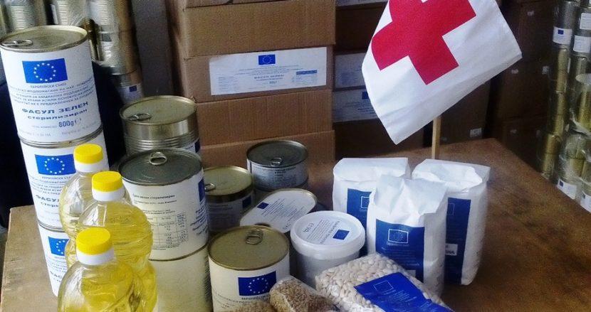 БЧК – Варна напомниха, че продължават да раздават хранителни продукти на най-нуждаещите се