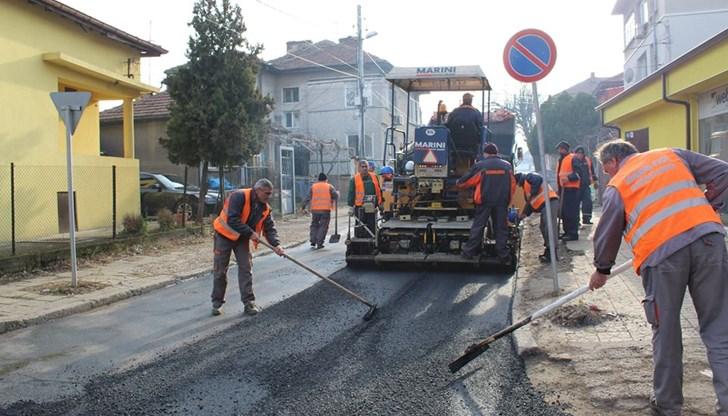 Затварят временно централна улица за преасфалтиране