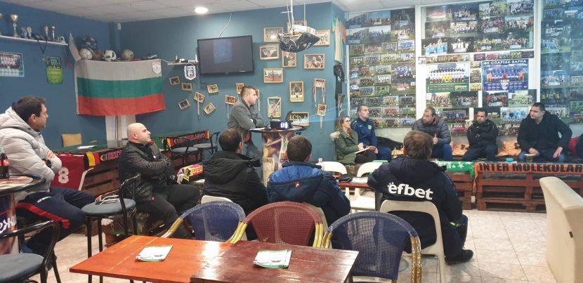 Платформата Sport Club с успешно представяне пред клубове от Варна и Шумен