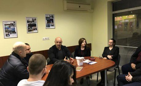 Николай Костадинов пред младежите на ГЕРБ: Най-модерният спортен комплекс във Варна ще бъде готов до края на годината