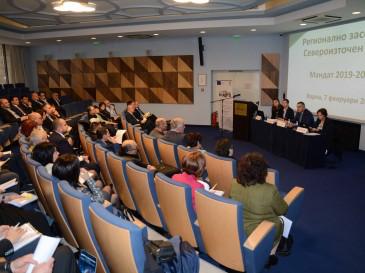 Кметът Иван Портних води регионална среща на НСОРБ във Варна