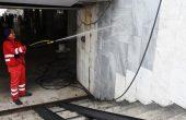 Разчистиха центъра на Варна от графити