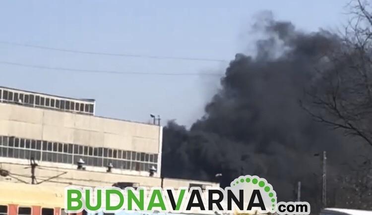 Апартамент горя във Владиславово