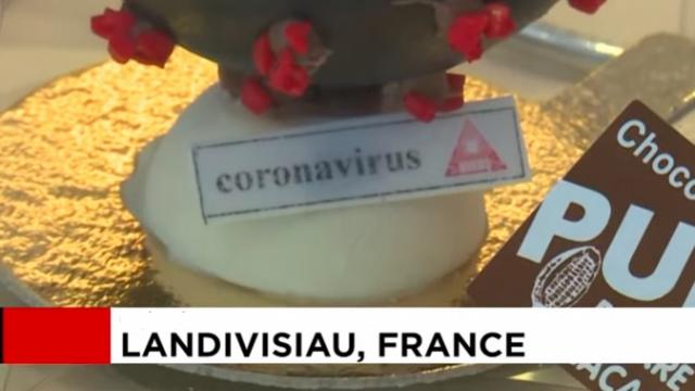 """Шоколадов """"COVID-19"""" е хит във френска сладкарница (СНИМКИ И ВИДЕО)"""