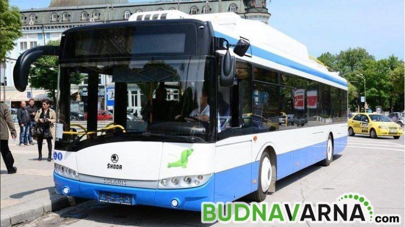 """""""Градски транспорт"""" във Варна отчита значителни загуби заради кризата с COVID-19"""