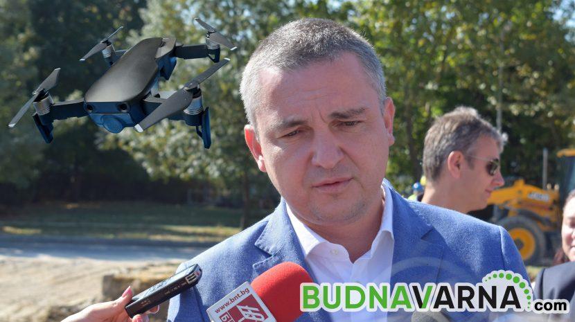 Иван Портних: Дрон ще проследява за струпвания на хора във Варна
