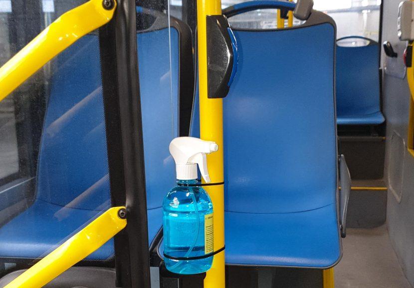 Поставят дезинфектанти в градския транспорт във Варна