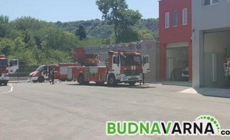 Варненските пожарникари отново на крак