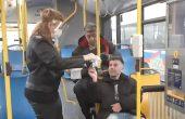 Раздадоха над 9000 маски в автобусите на градския транспорт