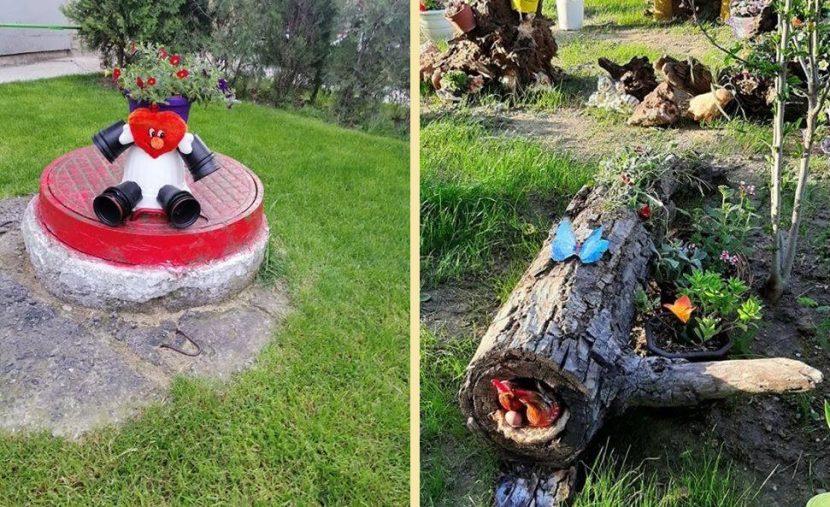 Уникални идеи за градинката пред входа се родиха във Владиславово