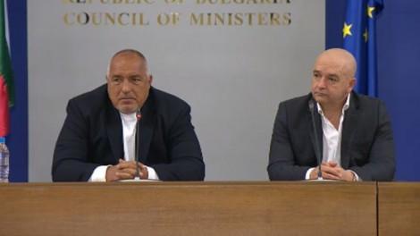 Бойко Борисов: Щабът никога не е бил разформирован