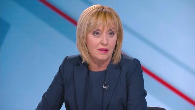 Мая Манолова влиза в борбата за депутати на избори 2021