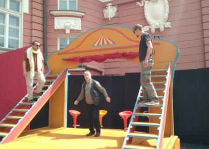 """Откриха новата лятна сцена """"Зад театъра"""""""