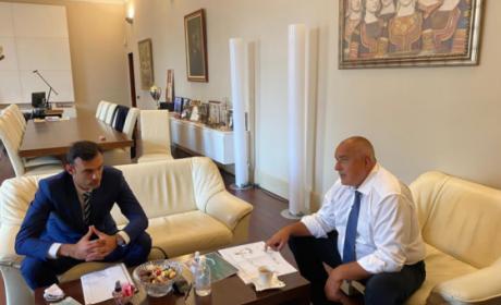 Борисов проведе среща с кмета на Бяла Пеньо Ненов