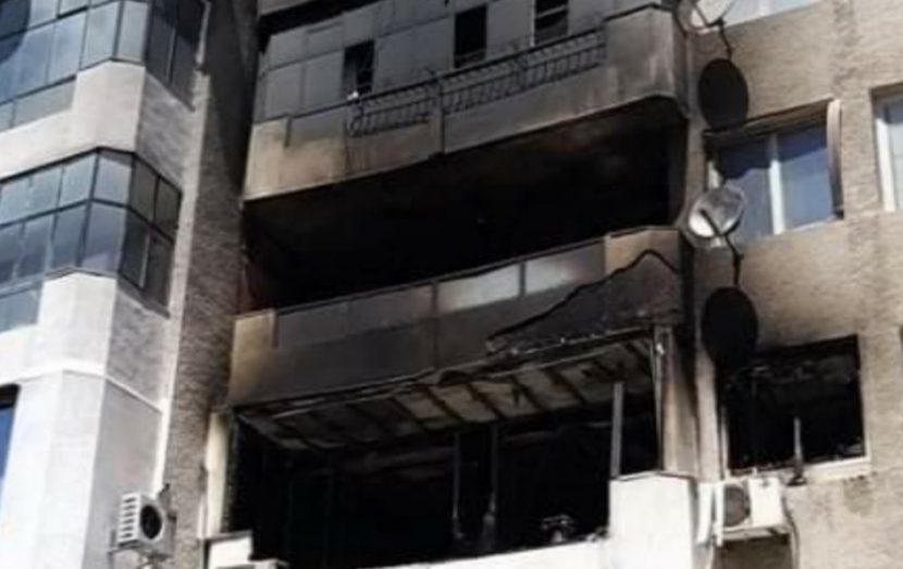 Пожар в жилищна сграда