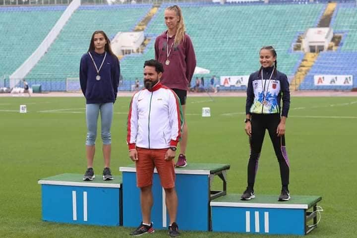 Варненката Петя Ковачева с два златни медала от националния шампионат по лека атлетика