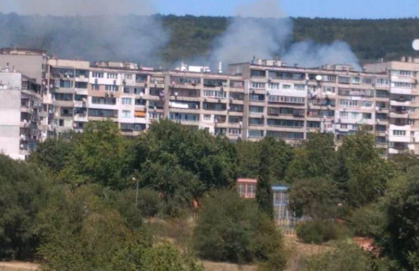 Пожар във Владиславово