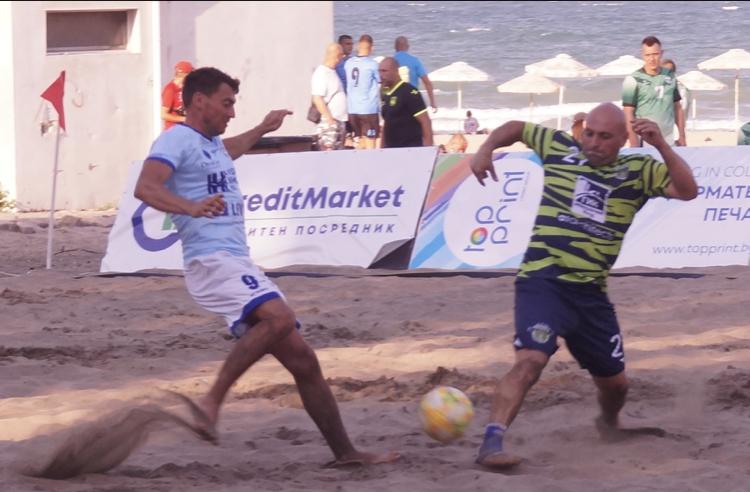 Дъжд от голове на старта на Националната лига по плажен футбол