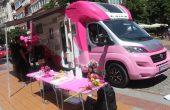 Розовият кемпер на Нана Гладуиш пристига във Варна