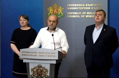 Кабинетът с незабавна реакция след изявлението на президента