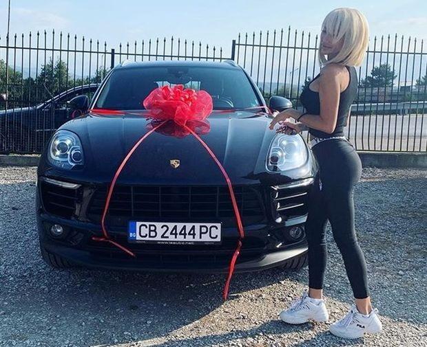 """Най-красивата омъжена българка получи """"Порше"""" за 100 бона"""