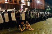 Напрежение на протеста в София, стигна се до сблъсъци с полицията