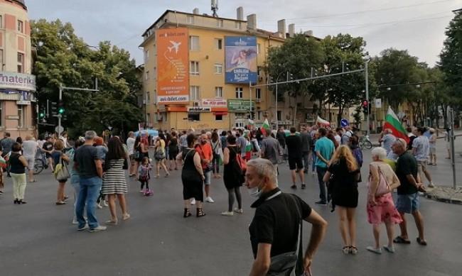 Протестиращите блокираха още едно кръстовище