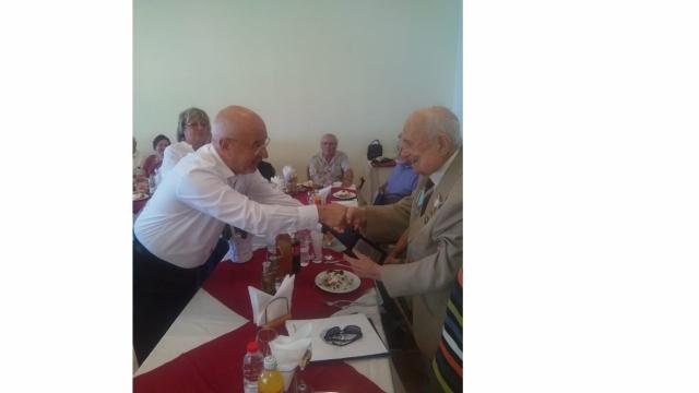 Ветеран от войната отпразнува 100-годишен юбилей във Варна