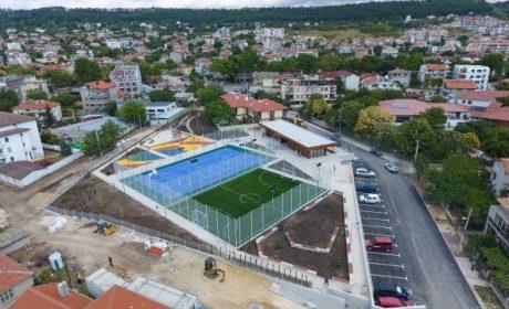 """Готов е спортният комплекс във """"Виница""""(Снимки)"""