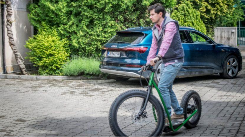 Българин създаде ново електрическо превозно средство (снимки/видео)