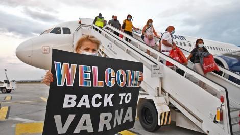 Летище Варна посрещна първите за това лято туристи от Израел