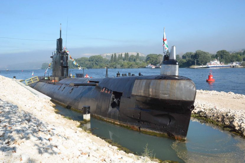 """Подводницата """"Слава"""" стана музей на подводното плаване (снимки)"""