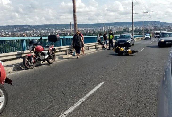 Тежка катастрофа на Аспарухов мост