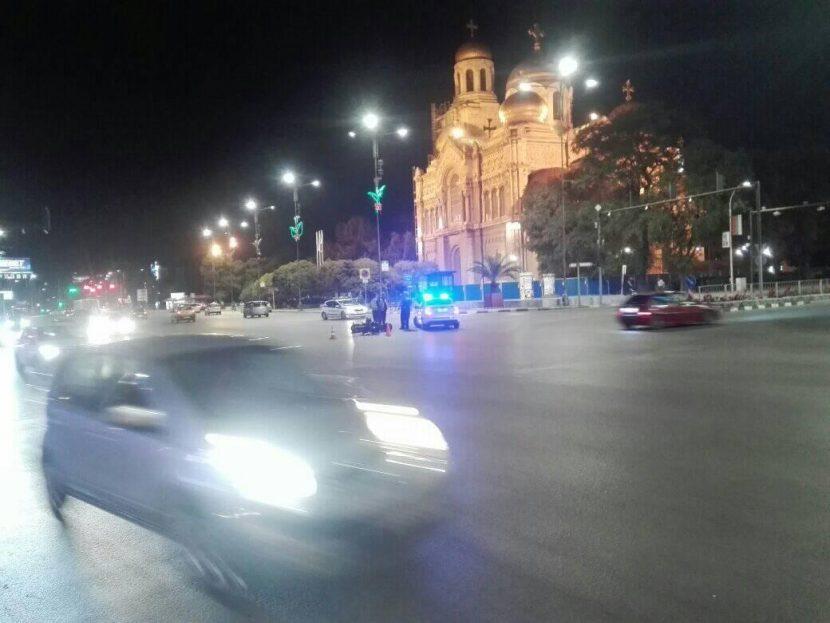 Тежка катастрофа пред Катедралата