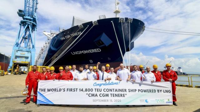 Варненец управлява най-модерния кораб в света