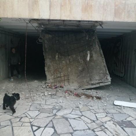 Корозия срутила тавана на подлеза във Варна?
