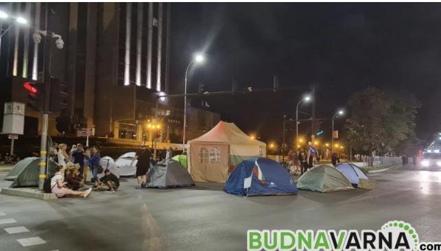 Палатковият лагер във Варна с отворено писмо до гражданите
