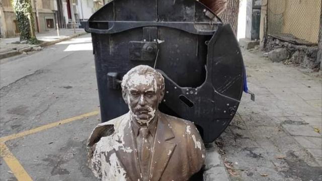 Георги Димитров се търкаля до казани на центъра