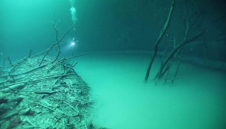 Огромна подводна река тече на дъното на Черно море