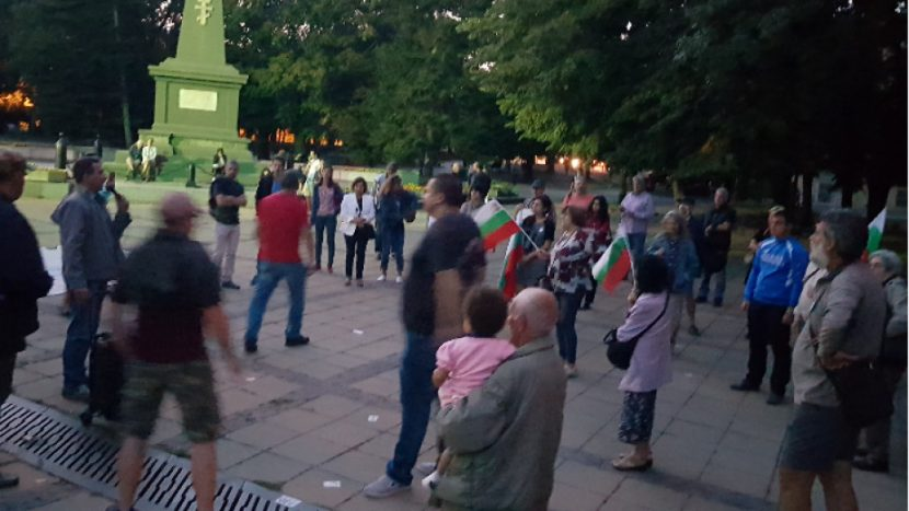 77-и ден на недоволство и протести във Варна