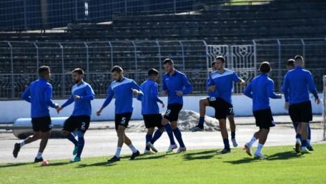 Групата на Черно море за мача с Левски