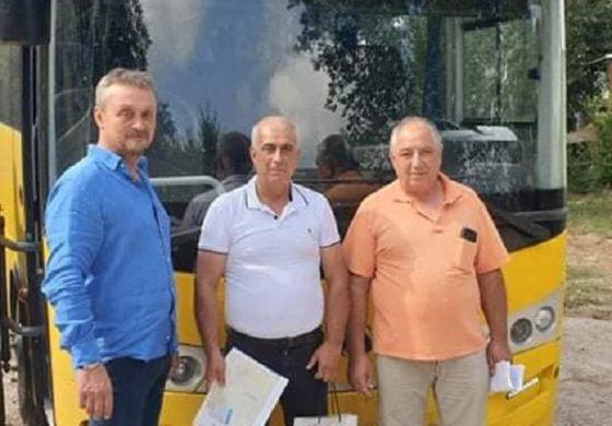 Община Дългопол получи безвъзмездно чисто нов ученически автобус