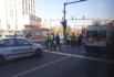 Шофьор се заби в светофара до Община Варна