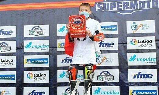 Никола от Провадия шампион в Испания по Супермото