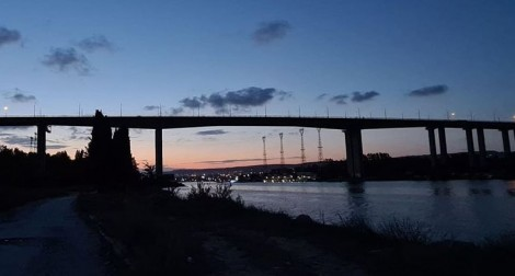 Аспарухов мост отново угасна (видео)