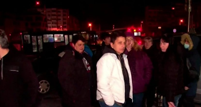 Кондуктори във Варна на протест