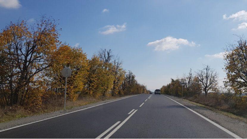 Ремонт на третокласния път Варна – Белослав