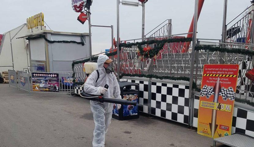 Дежурен екип за спешна дезинфекция ще работи по празниците