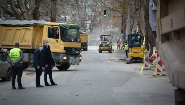Затварят днес улици заради ремонт